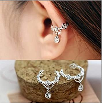 Sixlus 1Pair Fashion Big Dipper Zircon Stars Pendiente Crystal Earring