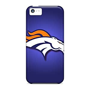 Iphone 5c ILZ9771YzMq Provide Private Custom Trendy Denver Broncos Image Shock Absorbent Cell-phone Hard Cover -KellyLast