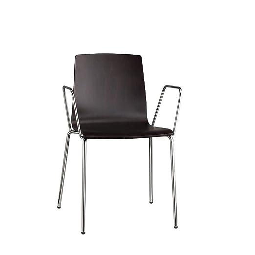 Scab Set 2 Design Alice sillón con Brazos y Patas cromadas y ...
