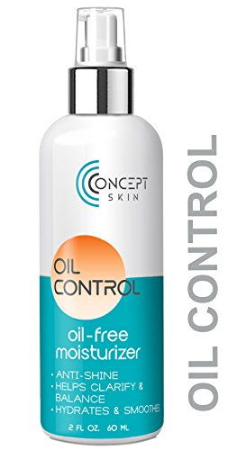 Oil Control Gel Cream (Oil Control - Oily Skin & Acne Moisturizer, Mattifying Oil-Free Moisturizer Prevents Breakouts & Clarifies with Salicylic Acid & Natural Botanicals - by Concept)