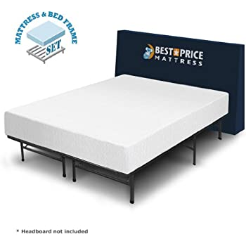 Amazon.com: Best Price Mattress 10-Inch Memory Foam Mattress and Bed ...