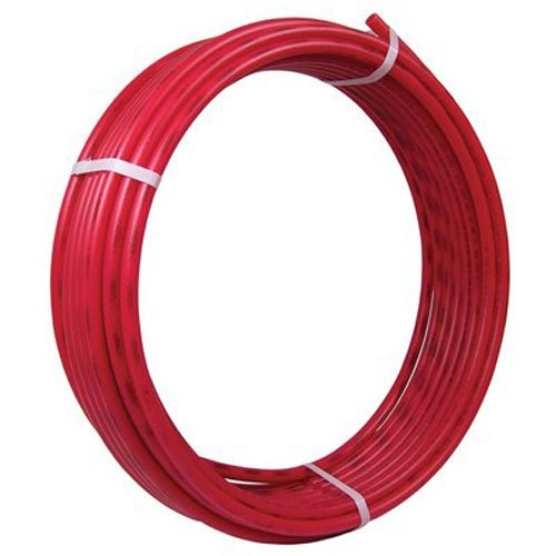 SharkBite PEX Pipe Tubing 1 Inch, Red, Flexible Water Tube, Potable Water, U880R100, 100 Foot Coil