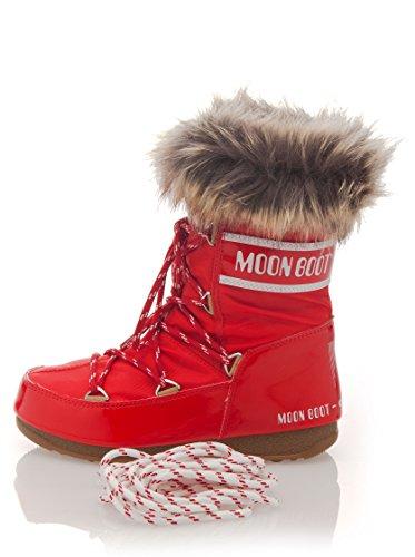 Tecnica M-BOOT WE MONACO LOW NERO 240029 Damen Stiefel Rot