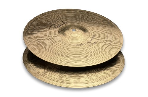 Paiste Signature Cymbal Dark Crisp Pair Hi-Hat 14-inch Jazz Thin Hi Hat