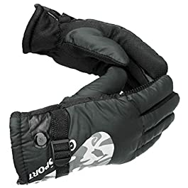 AlexVyan Anti Slip Snow and Wind Proof Soft Warm Winter Gloves for Riding, Cycling, Byke, Bike, Motorcycle for Unisex…