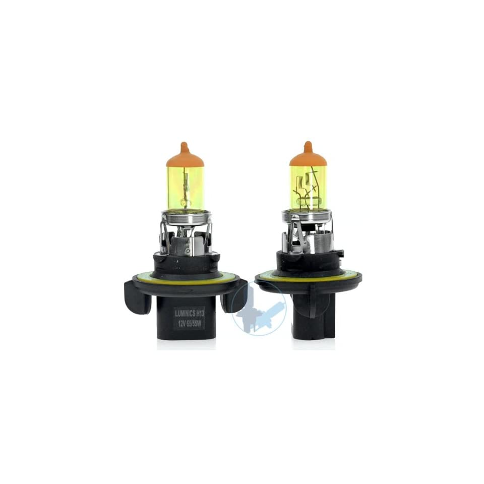 08 09 Mini Cooper Coupe H13 Super Yellow Light Bulbs For Headlights