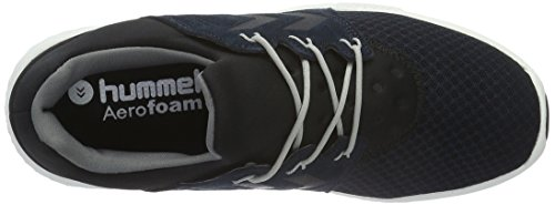 Hummel Unisex Adults' Terrafly Np Fitness Shoes, Grey/Black Blue (Total Eclipse)