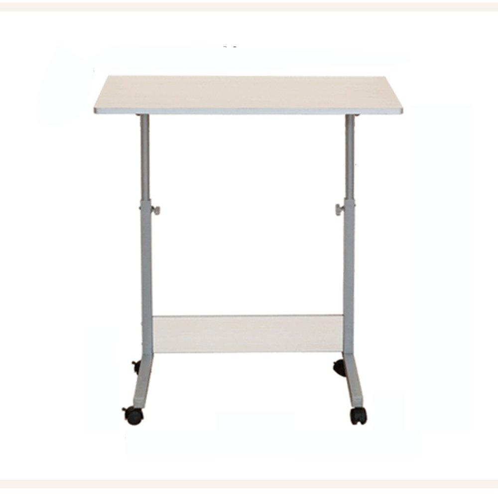 LJHA Tavolo da scrivania semplice scrivania da tavolo Tavolino da tavolo da tavolo Tavolo da apprendimento a scomparsa del dormitorio Scrivania da tavolo (Bianco allentato) (dimensioni opzionale) tavolo ( dimensioni : 80*50cm ) XiaoMuZhuoZiChang