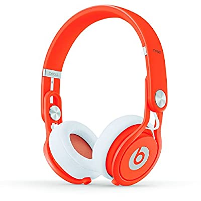 Beats by Dr. Dre Mixr 05499 | On Ear Headphone Orange BT ON MXR NEON ORG