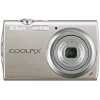 Nikon Coolpix S230 10MP Digital Camera with 3x Optical Zoom and 3 inch Touch Panel LCD (Warm Silver) Noticeable Review Image