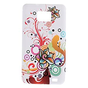 xiao Flower Design Soft Case for Samsung Galaxy S2 I9100