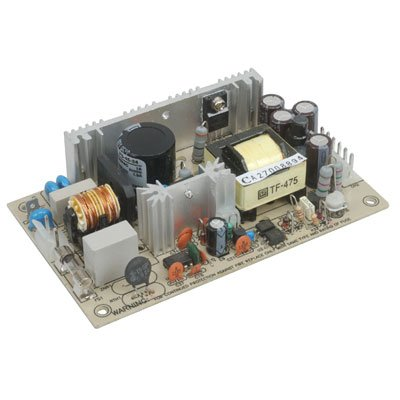"""Mean Well PS-45-12 Open-Frame Switching AC-to-DC Power Supply, Single Output, 12V, 0-4.4A, 44.4W, 1.1"""" H x 3.0"""" W x 5.0"""" L"""