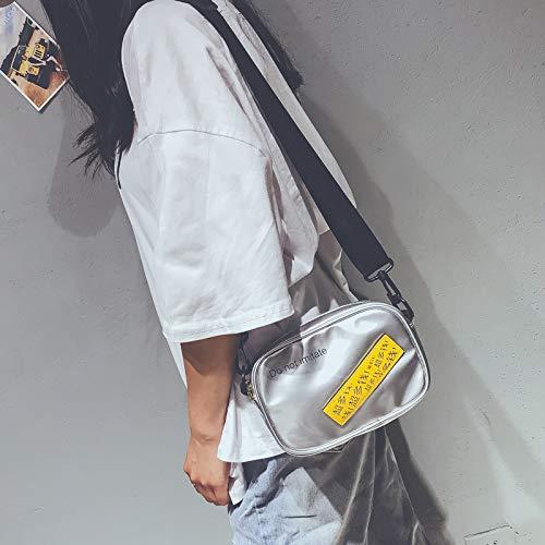nbsp;Borsa nbsp; tela unità mini tracolla di semplice borsa benna nbsp; mano elaborazione nbsp;bag 2018 personalità selvaggia di Borsa nbsp; nbsp; Messenger catena della tXwqgwpS
