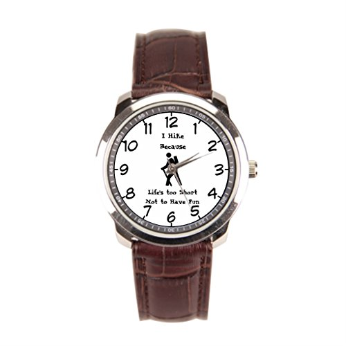 EleganceElegant Sightseeing Leather Banded Watches Brown Men'sLeatherWatch