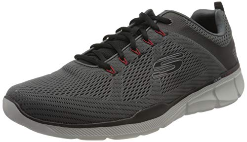 Skechers Men's Equalizer 3.0 Oxford, Charcoal/Black, 11.5 M US
