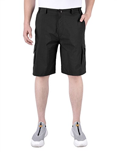 Nonwe Men's Water-resistant Quick Dry Outdoor Hiking Shorts 500330XL