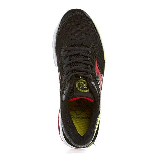 Mizuno Zapatillas Running Wave Rider 16 negro - rojo - amarillo