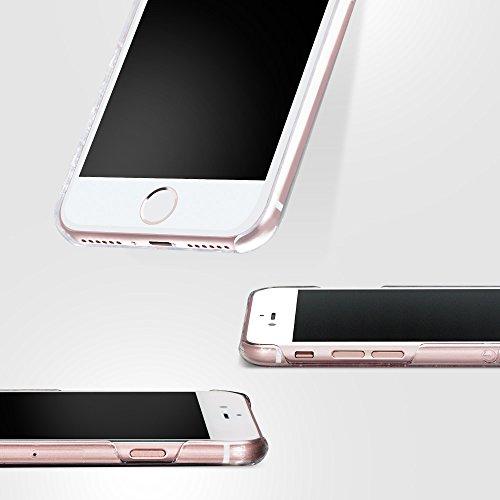 Bling-My-Thing iP7-l-pp-cl-ccd Papillon Serie Luxuriöses und einzigartiges Design veredelt mit original Swarovski Kristallen, modisches Case für Apple iPhone 7 Plus Cotton Candy
