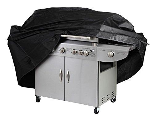Aidonger BBQ Abdeckhaube Ideal für Gasgrill Wetterschutzhülle (170 * 117 * 61cm, Schwarz)