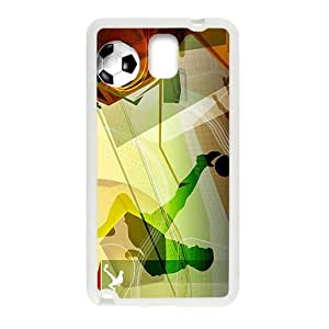 Creative Football Pattern Custom Protective Hard Phone Cae For Samsung Galaxy Note3