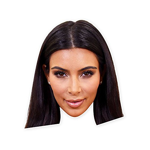 Kim Kardashian Mask - Perfect for Halloween, Masquerade, Parties, Events, Concerts - Jumbo Size - Kardashian Kim Costume