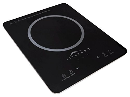 Boundary 93330 Kitchen Cooktop 1500w Induction - Black