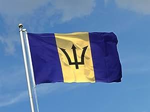 Bandera BARBADOS de tela náutico tamaño 100x 150al Production