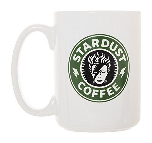 Stardust Coffee Mug 15 oz Deluxe Large Double-Sided Mug David Bowie Inspired