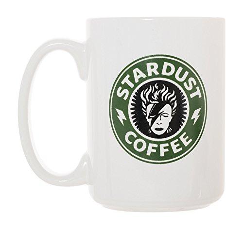 Stardust Coffee Mug 15 oz Deluxe Large Double-Sided Mug David Bowie -