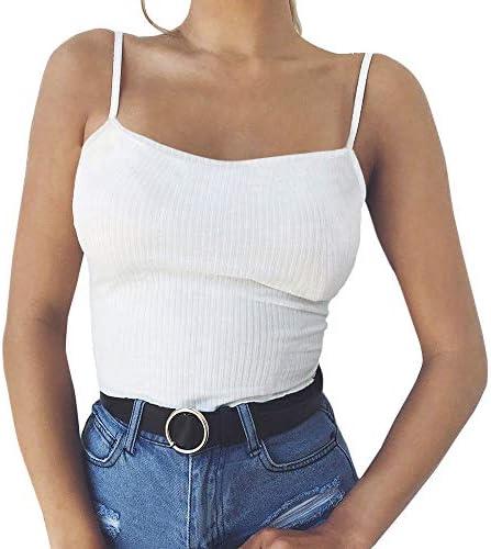 POLP Camisetas sin Mangas de Fitness para Mujer,Mallas y Bodies Camiseta de Tirantes Mujer,Ropa Interior Deportiva Chándales Ejercicio y Fitness de Yoga Crop Tops Blanco Negro S-XL: Amazon.es: Ropa y accesorios