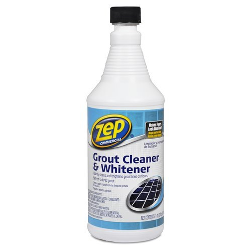 ZEP Commercial FLOOR GROUT CLEANER & WHITENER 32 oz. (Safe on Colored Grout) by Grout Cleaner
