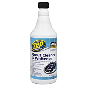 ZEP Commercial FLOOR GROUT CLEANER amp WHITENER 32 Oz Safe