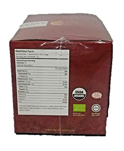 Organo Gold 5 Boxes Ganoderma Gourmet - Gourmet King Coffee (25 sachets) by Organo Gold (Image #4)