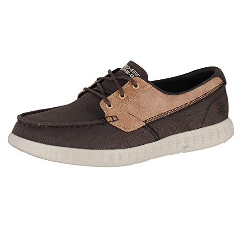 Mens Boat Seas Shoes High Choc OTG Glide Chocolate Skechers aqBwB