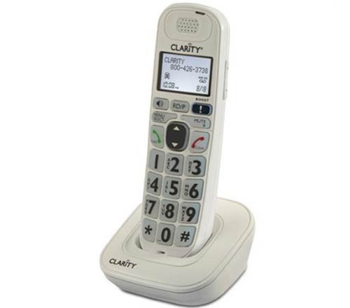 Clarity D702HS Handset for D702 and D712 Amplified Low Vision Phones (Accessory Handset Only)