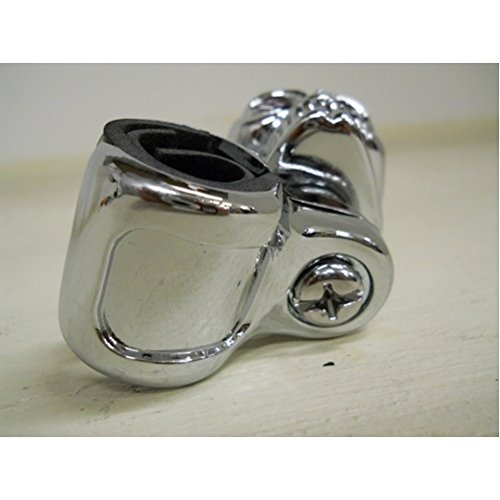 Chrome Die Cast Skull Steering Wheel Spinner Suicide Knob Universal Bracket