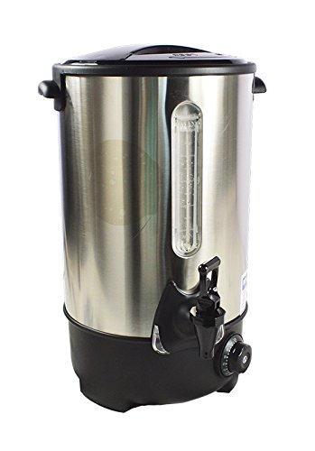 Stainless Steel Electric Commercial Office Hot Water Warmer Dispenser 16L 220V 239247 by Garden at Home