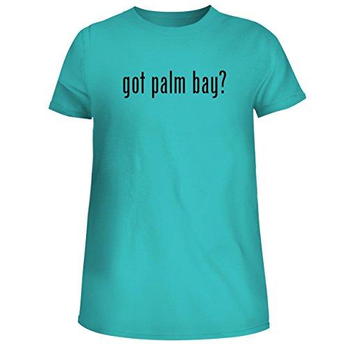 got Palm Bay? - Cute Women's Junior Graphic Tee, Aqua, X-Large ()
