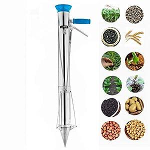 Bulb Planter Hand-held Vegetable Seedling Transplanter Sod Plugger Garden Tool