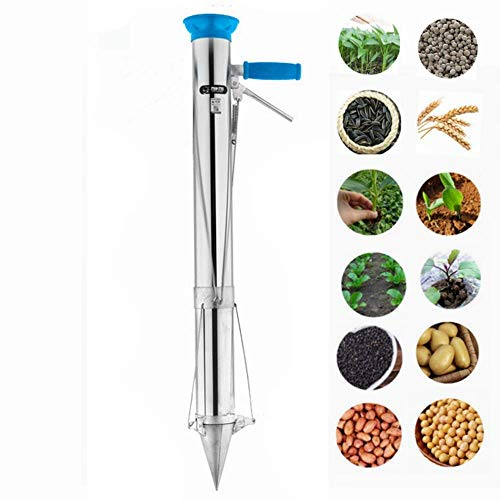 Lengthy Dealt with Bulb Planter Instruments and Vegetable Seedling Transplanter Seed Bulb Planter Machine (Renewed)