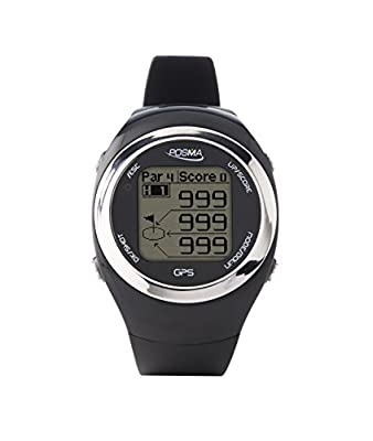 POSMA GT2 Golf Trainer + Activity Tracking GPS Golf Watch Range Finder, Global courses US, Canada, Europe, Australia, New Zealand, Asia- Red from Waterland Limited