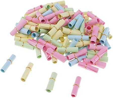 sharprepublic 100 stuks kleurrijke wensrollen papierrol DIY decoratie de geschenkvaardigheden wenst