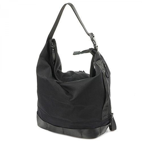 George Gina & Lucy Nylon Roots Small Challenge Schultertasche black_black x