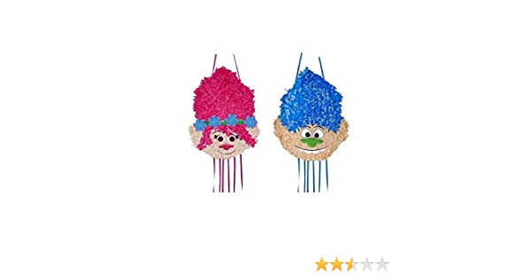 DISBACANAL Piñata Trolls Mediana - Chico