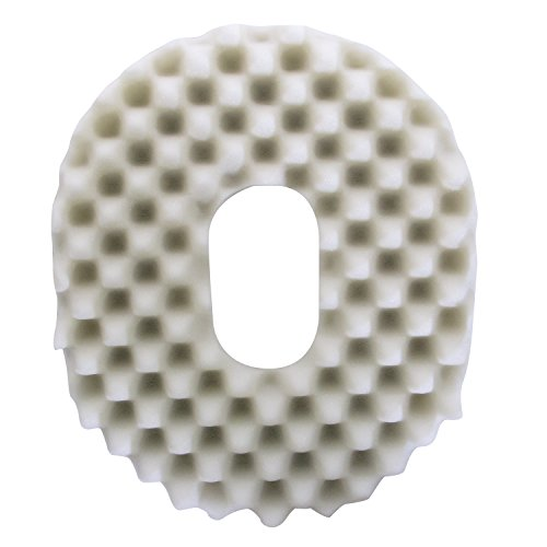 (PCP Ring Donut Seat Cushion, Convoluted Foam, Removable Cover,)
