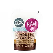 Planet Organic Sprouted Brown Rice 400 g (order 8 for trade outer)