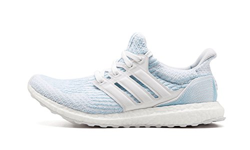 best service 4ca14 68ffa adidas Ultraboost 3.0 Parley Shoe Men's Running 9 Cloud White-Icey Blue