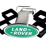LAND ROVER CHROME TOW HITCH COVER RECEIVER 2″ NEW GENUINE LAND ROVER PART LRK91690