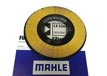 D2P Mazda 323 Mk4 1.3 89 - 91 Filtro de Aire Redondo/Ovalado LX556 ...