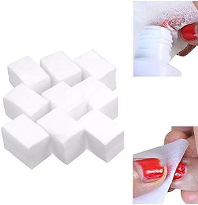 Toallitas desmaquillantes de algodón de 700 piezas para esmalte de ...